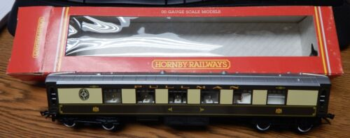 HORNBY R223 PULLMAN FIRST PARLOUR CAR USED IN BOX OO HO SCALE GREAT SHAPE LQQK