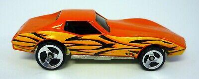 Hot Wheels Corvette Stingray Mattel Orange Druckguss Auto Tattoo Maschinen #4 (Hot Wheels Tattoos)