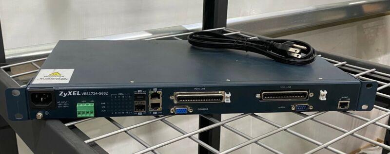 ZyXEL VES1724-56B2 VDSL2 DSLAM 24-port Temperature-Hardened VDSL2 Box DSLAM