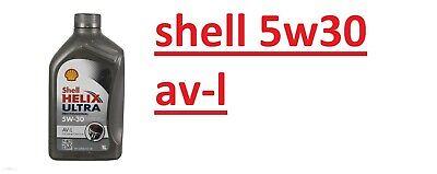 4 LT OLIO MOTORE SHELL HELIX ULTRA PROFESSIONAL 5W30 Av-L