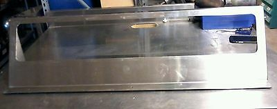A55 Insert Shelf Commercial Stainless Steel 40 X 9.5 Used
