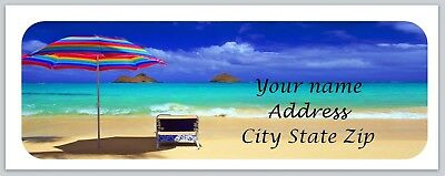 Personalized Address Labels Beach Buy 3 Get 1 Free Xco 857