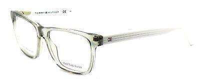 TOMMY HILFIGER TH 1327 05P Men's Eyeglasses Frames 50-16-140 Gray White + CASE