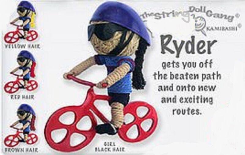Kamibashi Ryder Rider Girl Original String Doll Gang Keychain Toy
