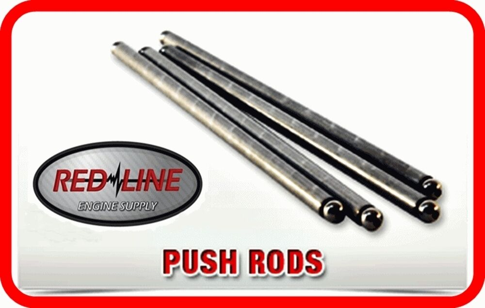 PUSH RODS PUSHRODS 86-01 Ford 302 5.0L OHV V8 w// Roller Lifters SET OF 16