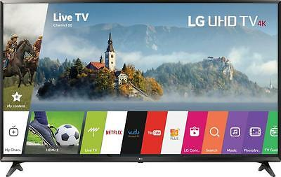 "Open-Box Excellent: LG - 43"" Class - LED - UJ6300 Series - 2160p - Smart - 4K..."