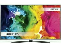"""LG 43"""" 4K UHD SMART WI-FI TV HD freeview 4 time batter then normal tv. Comes with magic remote."""