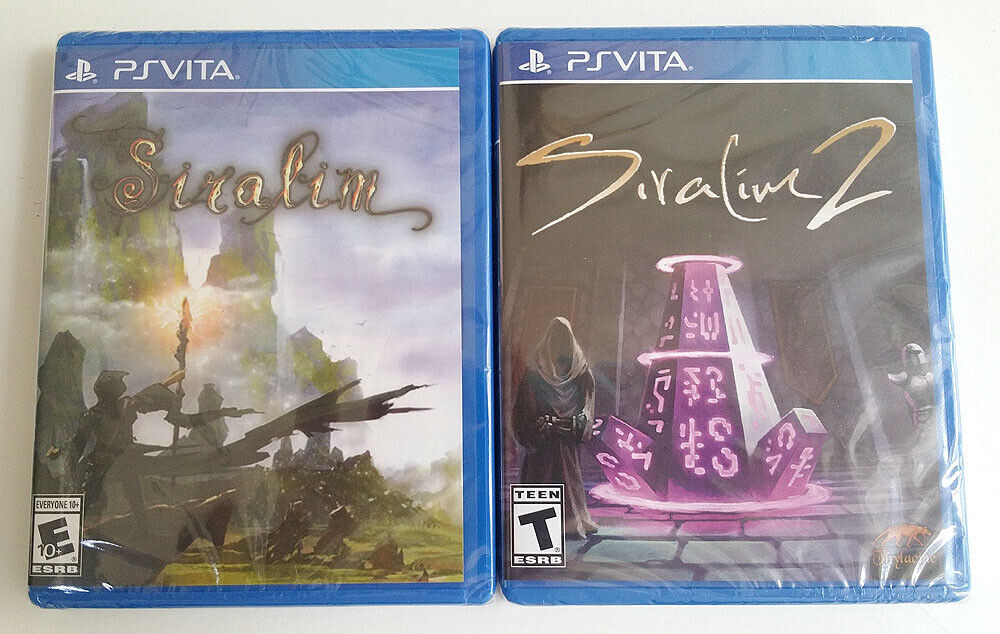 Details about SIRALIM 1 & 2 - Limited Run Games #137, #191 -PS VITA- BUNDLE  PACK -NEW -SEALED!