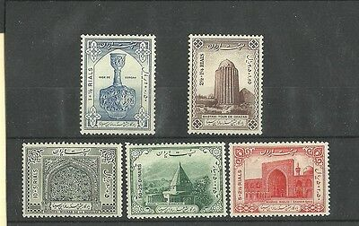 Iran 1950 Millenary of Avicenna set 4  stamps MNH
