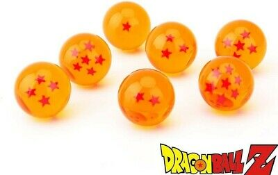 CYRAN Dragon Ball Z Crystal Dragon Balls 7 Stars 7pcs Anime 3.5cm Boxed #AZG