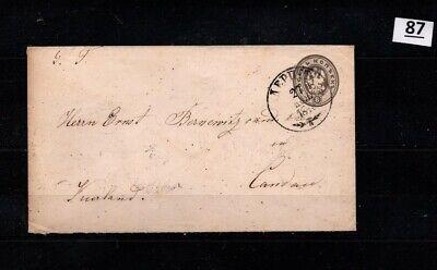 // RUSSIA, LATVIA 1876 - COVER