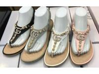 ##WHOLESALE## LADIES CHANEL GUCCI SANDALS
