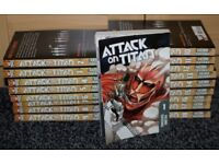 Manga Set - Attack on Titan Volumes 1-18