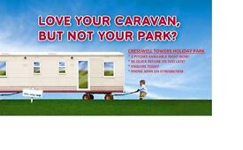 Bring On Your Static Caravan To Cresswell Towers, 2 Pitches Available, Hurry Now Before Its Too Late