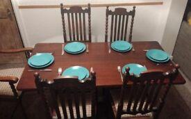 Solid Wood Allen & Appleyard Dining Table