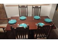 Solid Wood Allen & Appleyard Dining Table