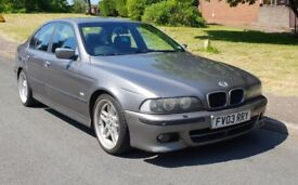 2003 BMW 530d M Sport Diesel Automatic Sterling Silver/Grey e39