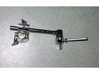 Roland MDH-25 Pad Mount Ball Clamp & Tilt rod plus silver frame clamp by Gibraltar