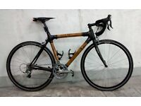 56cm Bamboo/Carbon road bike