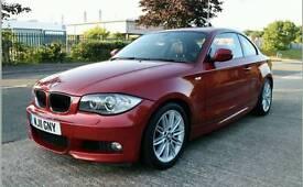 BMW 1 Series Coupé M-SPORT 120D 85K £8495 ono