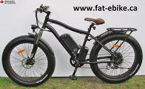 New Kador Fat Ebike - loaded with fine upgrades & accessories - speedy delivery to your door