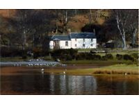 House with character to let, Lochranza, Isle of Arran