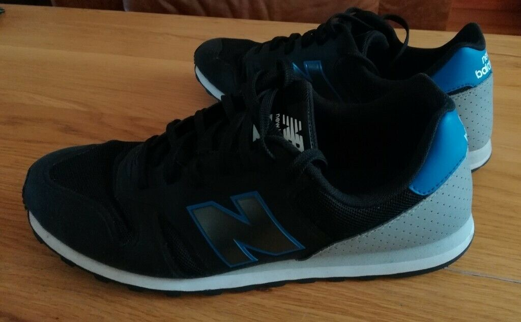 new product 02fc5 5ee57 Mens New Balance 373 Black/Grey/Blue Trainers, UK Size 10   in Stonehaven,  Aberdeenshire   Gumtree