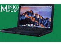 """Black Limited Edition 13"""" Apple MacBook 2Ghz 4GB 500GB HD Logic Ableton Final Cut Microsoft Office"""