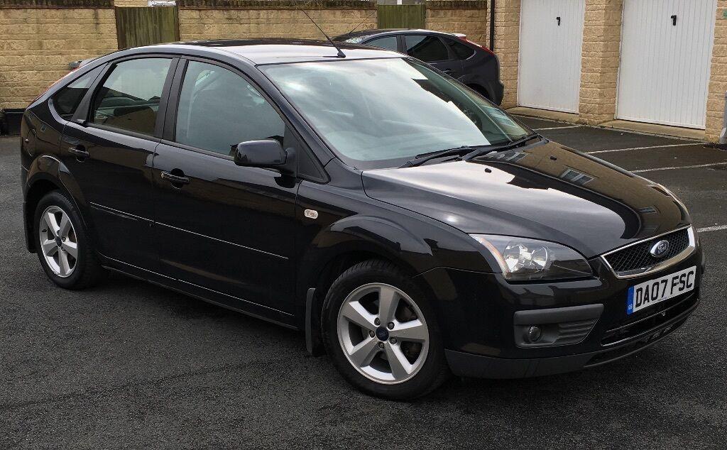 ford focus 2007 1 6 turbo diesel black in witney oxfordshire gumtree. Black Bedroom Furniture Sets. Home Design Ideas