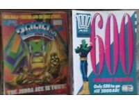 Collection aprox 600 x 2000AD comics - a range of issues from #527 - #2000 in good condition WORCS.