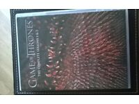 Game of Thrones season 1-2 DVDs