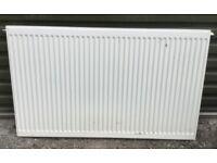 White metal radiator