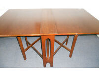 Large Teak Gate Leg Table