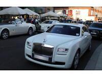 Rolls Royce Ghost for Chaffeur hire/Weddings etc