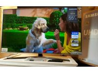 Samsung 55 inch 4K Ultra hd HDR Smart led tv UE55MU6470 with built-in WiFi, Voice Control