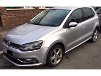 2015 Polo SEL TSI - 25000 miles - Parking Sensors - Petrol - £20 Tax