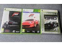Xbox 360 games: Race bundle - Forza 3, Forza 4 and Grid!