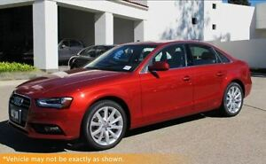 2013 Audi A4 (Tiptronic), AWD, Sunroof, LOW KMS!