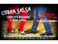 CUBAN SALSA Complete Beginners 8-week Structured Course