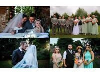 Wedding packages from £200, taking 2019 bookings now!