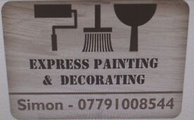 Express Painting & Decorating. Reliable & Fair Priced.