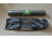 Fitness mat yoga mat. Brand new still factory sealed with carry bag.