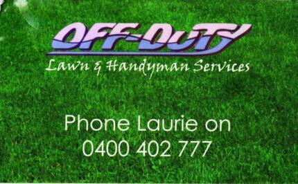 Off Duty Lawn & Handyman Service