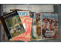 HISTORY TODAY Magazines - massive bundle of approx 240 magazines