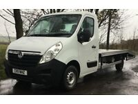 BLACK FRIDAY EVENT OFFER! Recovery Truck *NO VAT* CHEAP * LWB 3.5 Ton Brand New Body Vauxhall Movano