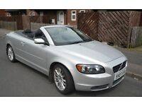 Volvo C70 2.4 D5 SE Geartronic 57500 serviced 57,076 free hpi check A STUNNING, hard top convertible