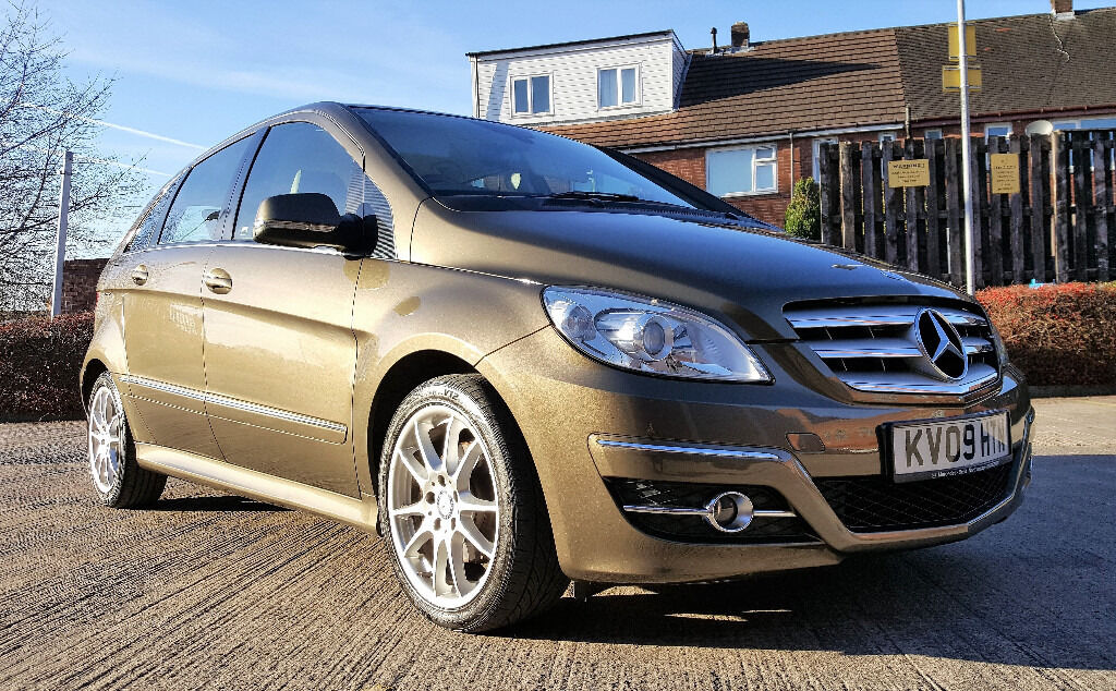 2009 mercedes b200 cdi sport 6 speed manual b class brown sat nav beige leathers 4995 in. Black Bedroom Furniture Sets. Home Design Ideas