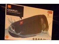 JBL Charge 3 Portable Wireless Speaker - Black