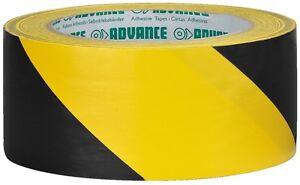 AT-8/GESW - PVC-Markierungsband, gelb / schwarz Klebend
