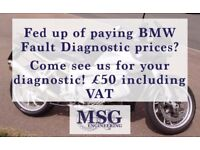 MSG Engineering - servicing BMW